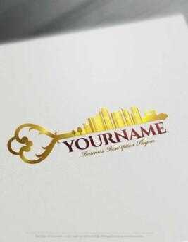 Make Your Own Urban City Logo Free with Logo designer