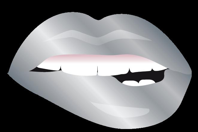 sexy lips Logo Free with makeup Logo maker