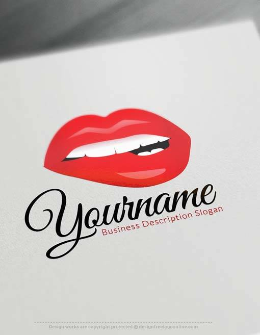 Rose Gold Lips Logo Design Rose Gold Lipsense Makeup