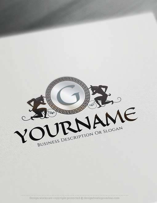 Create online Egyptian letters Logo Design with Free Logo Maker