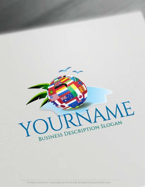Create Travel Logo Online Maker with our Free Logo Generator