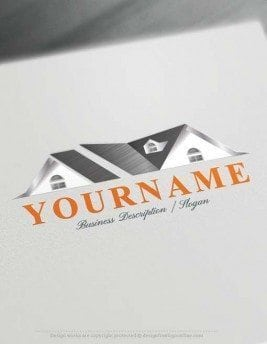Create Your Own Houses Logo with Free Real estate Logo creator