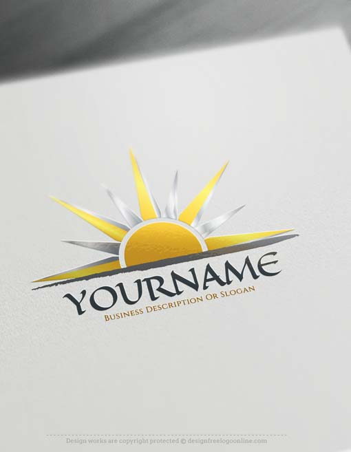 Free design logo yourself