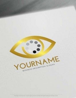 Create search eye Logo online with Logo Creator Free
