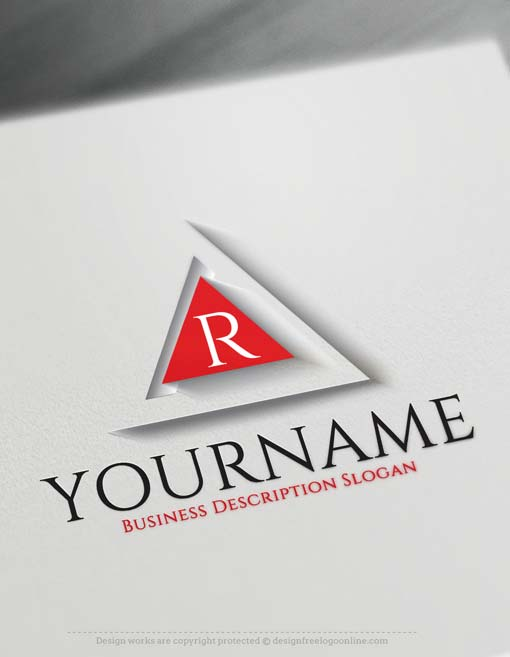3D Logo Maker - Free 3D Triangular Logo Template