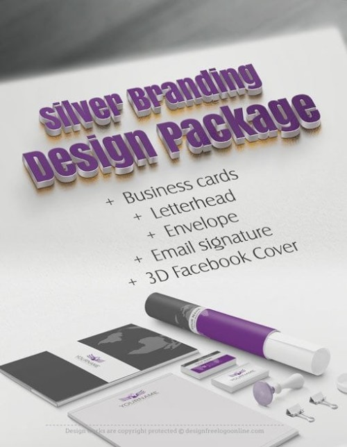 Brand your business with our Branding Design Silver Package