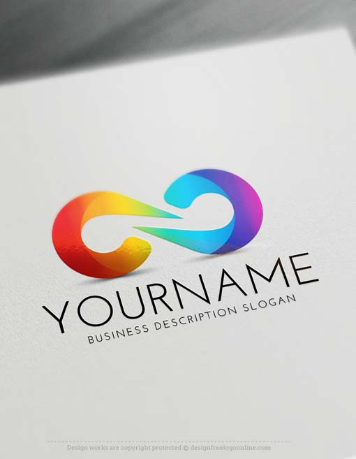 Free Logo Creator - Create Modern Infinity Logo with the Logo Maker