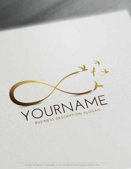 abstract logo create a logo with our logo maker. Black Bedroom Furniture Sets. Home Design Ideas
