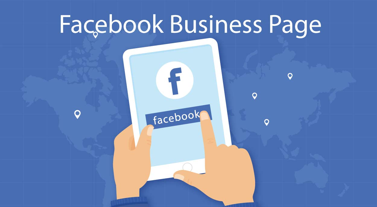 open a Facebook business page