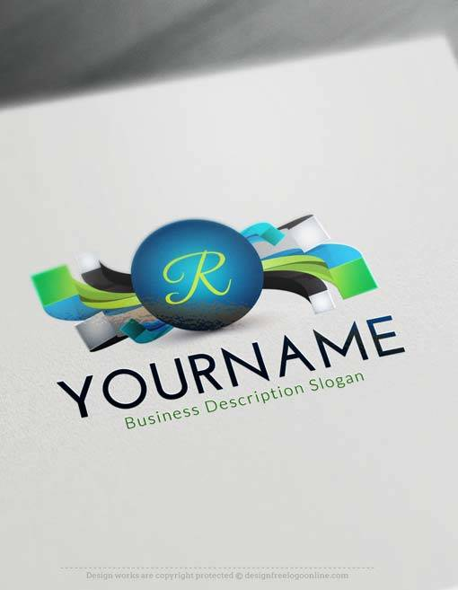 Free logo creator create modern 3d logo with 3d logo maker for Create logo online free 3d