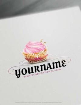 Make your own amazing Bakery Logo Design using the best Free Logo Creator
