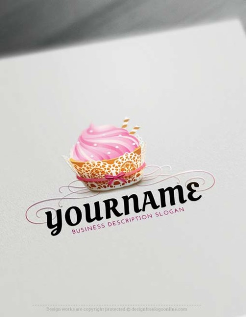 Make your own amazing Bakery Logo Design using the best Free Logo Creator