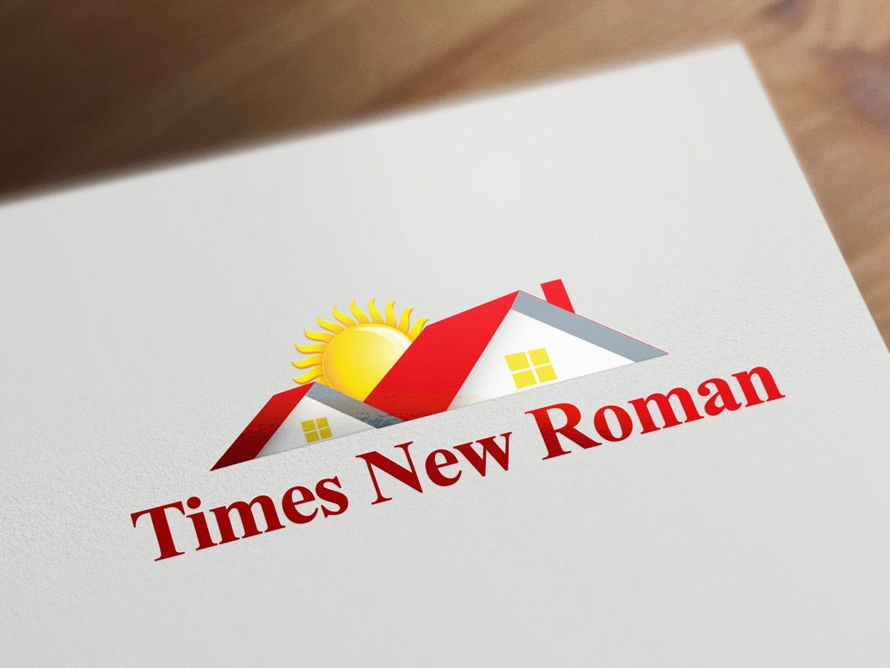 Times New Roman font for real estate