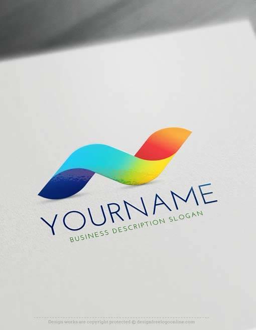 Free 3D Logo Maker - Wave 3D Logo Creator