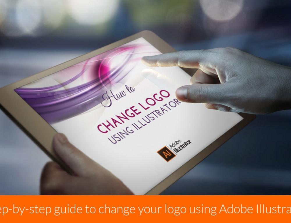 كيف تقوم بتغيير الشعار الخاص بك باستخدام برنامج Adobe Illustrator