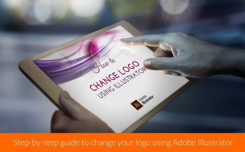 Step-by-step guide to change your logo using Adobe Illustrator Software