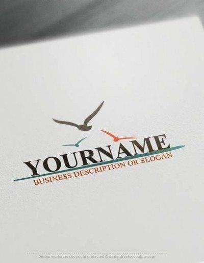 free birds Logo design