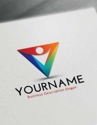 Free Logo Maker Online - Abstract Human Logo Creator