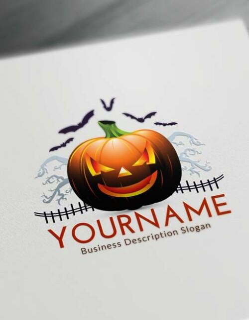 Free Halloween Logo Maker - Online Halloween Logo Creator