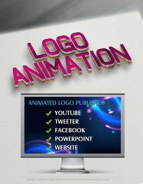 Logo Animation - Motion Graphics Logo Creator