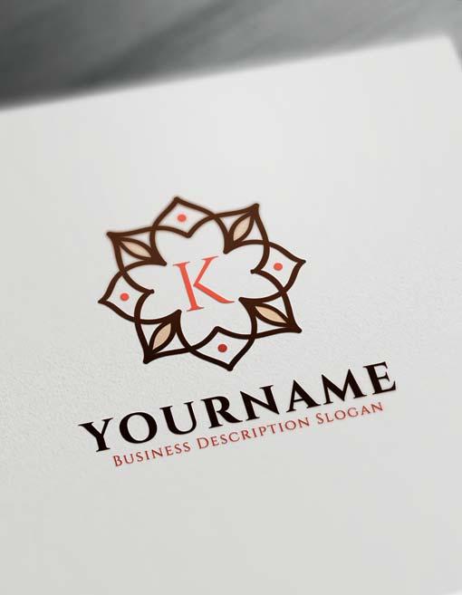 Vintage Logo Creator - Free Letter Logo Decor Maker