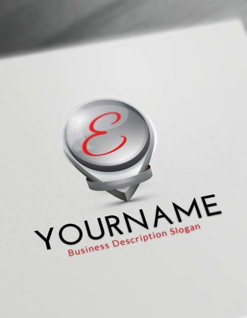 Online Logos Creator Free 3D Pointer Logo Maker