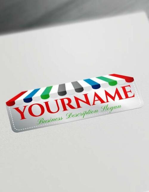 Free LogoMaker Online Store e-Commerce Logo Creator