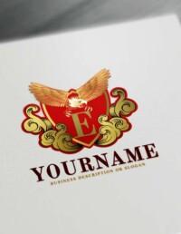 Free Vintage Eagle Logo Creator Online Eagle Logo Templates