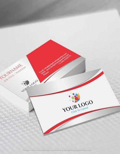 Business Card Maker Template