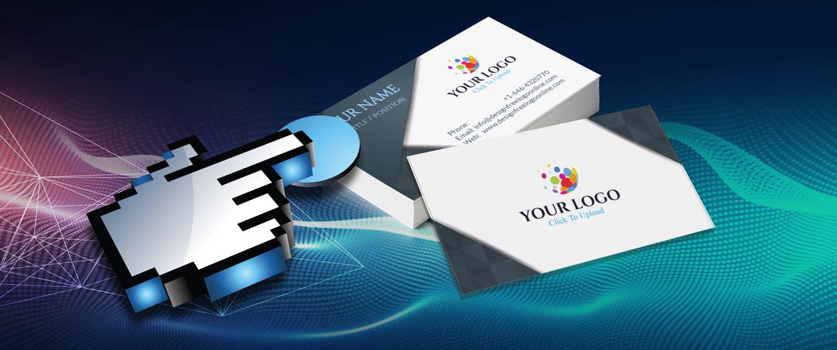 Create your own business cards with the free business card maker online free business card maker reheart Gallery