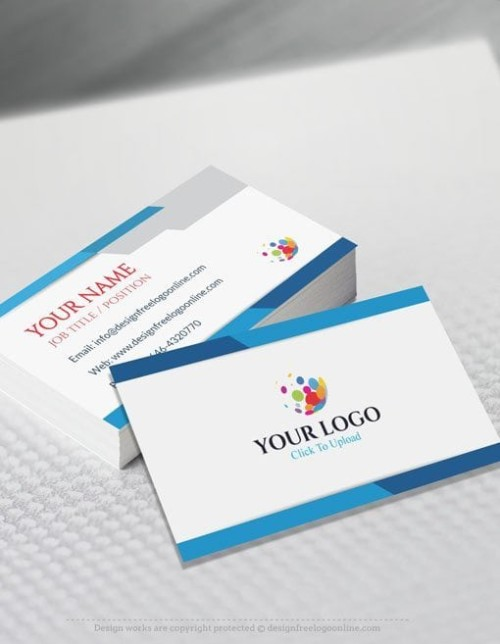 online Business Card Maker app