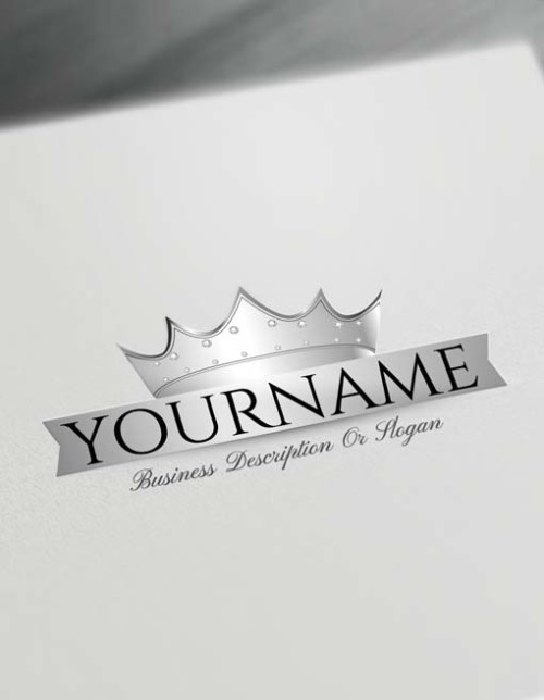 Free Logo Creator - Royal Diamond Crown Logo Maker