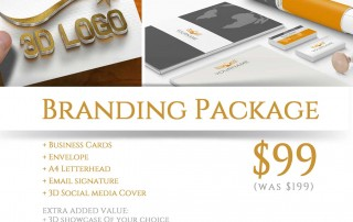 Daily Deals custom made Branding Package