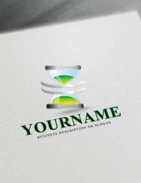 Create a Logo Free Time Logo Maker - Hourglass Logos