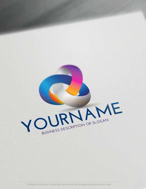 Free 3D Logo Maker – Link 3D Logo Design