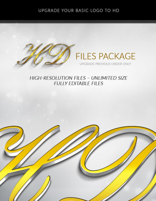 HD FILES PACKAGE UPGRADE