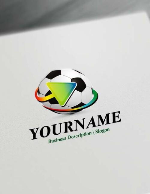 Free Futbol Club Logo Creator Online Soccer Logo Template