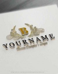 Initials Luxury Logo Template