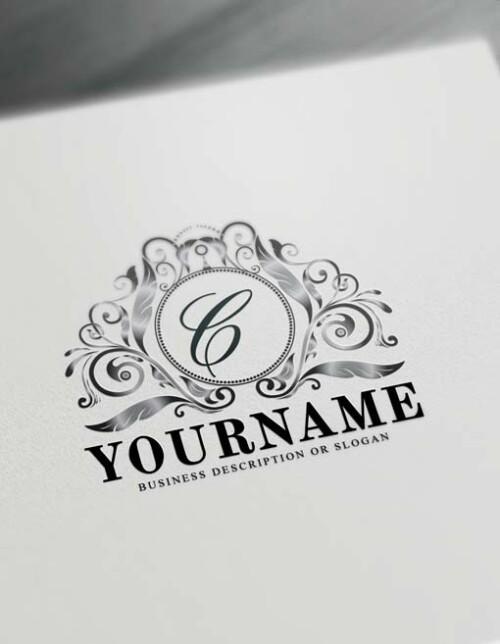 Free Vintage Royalty Logo Creator Letters Logo Maker