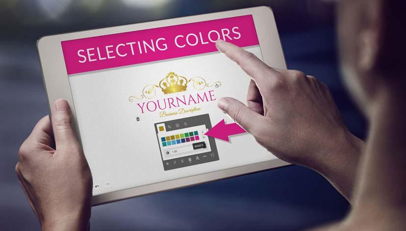 logo maker colors