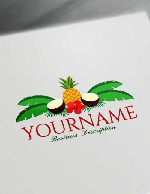 Modern Pineapple Coconut logo