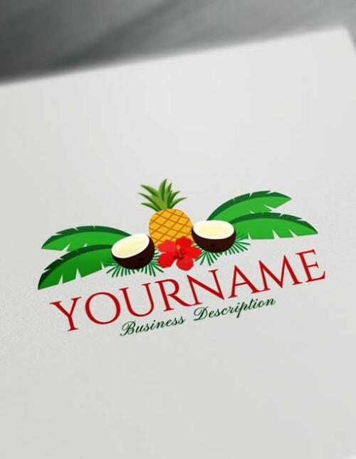 Modern Pineapple Coconut logo
