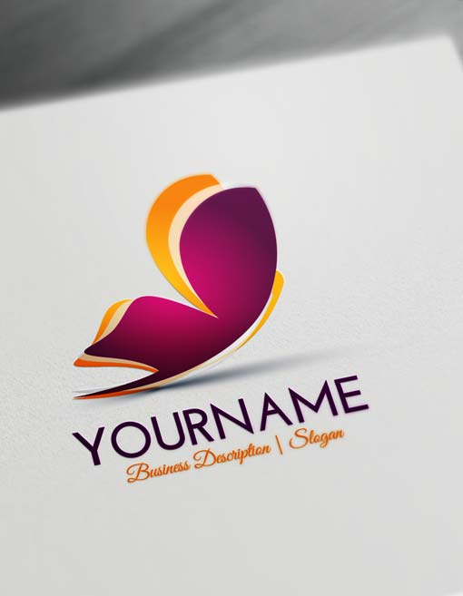 Free Butterfly Logo Creator - Make Your Own Butterfly logo online