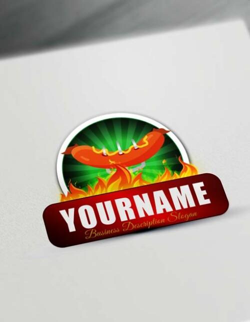 000934 hotdog logo design free online fast food logo maker