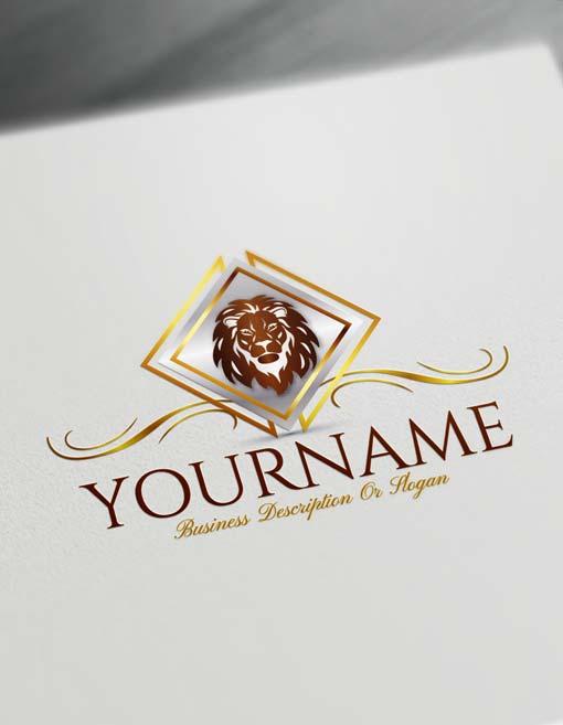 Build Your Own Lion Logo - Free Lion Logo Creator