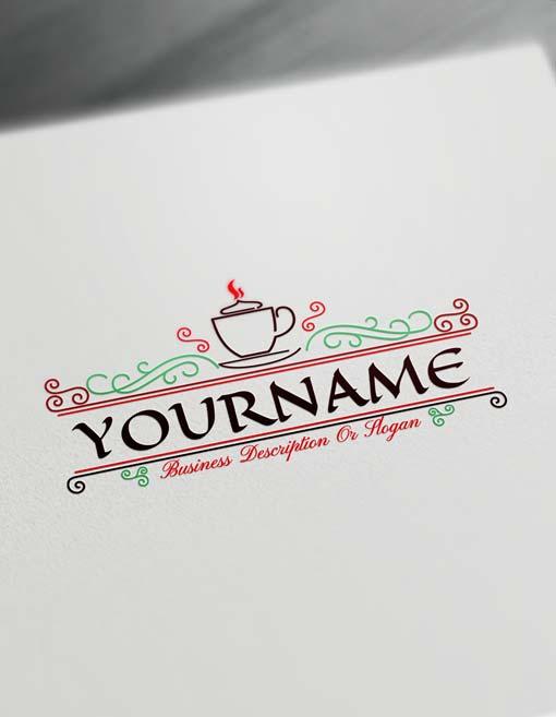 Make coffee Logo Online - Free cafe Logo Creator