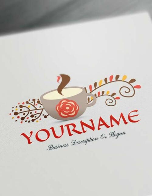 Make vintage Café Logo - Free coffee Logo Creator