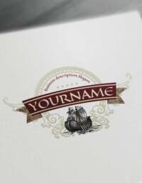 Free Vintage logo maker Luxurious Vintage Logo
