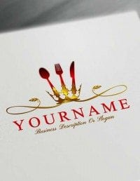 Luxurious Restaurant Logo Maker - Online Build Catering Logo Design
