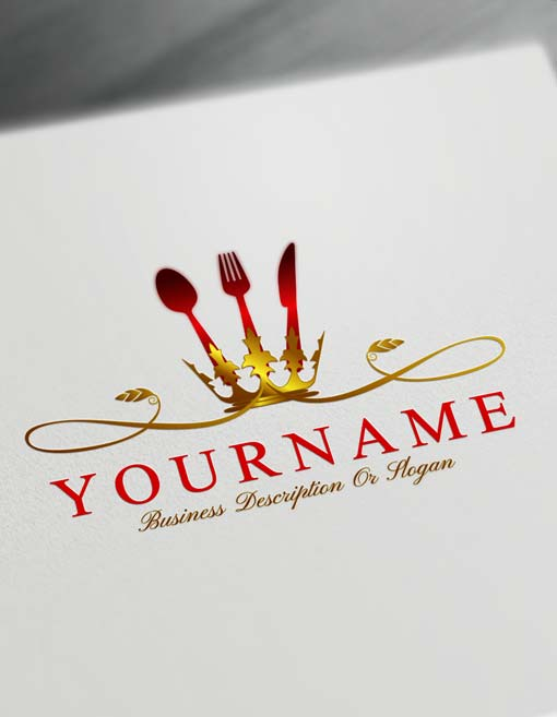 Luxurious Restaurant Logo Maker - Online Build Catering Logo Design